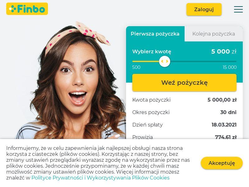 Finbo (PL), [CPL], Business, Loans, Short term loans, Loan Approval, loan, money, credit