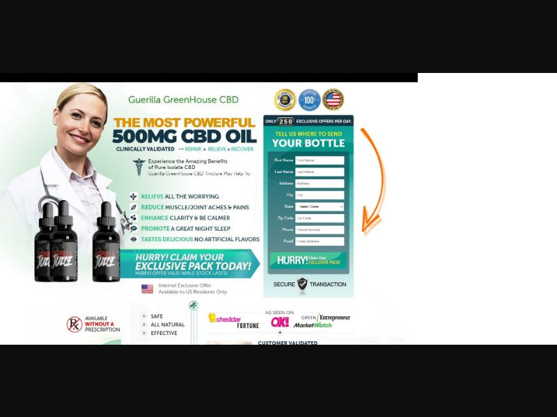 Guerilla GreenHouse Guerilla Juice CBD - CBD - SS - [US]
