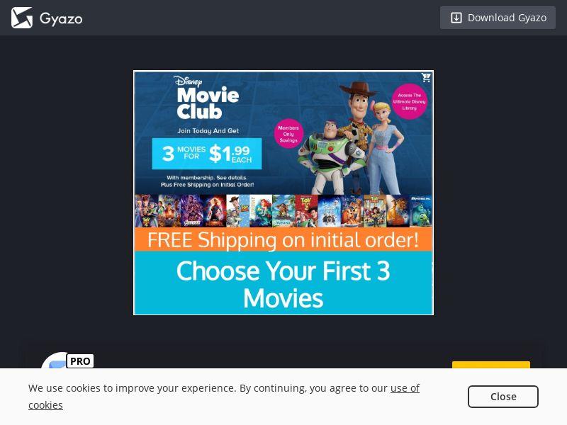 Disney Movie Club US | CPA