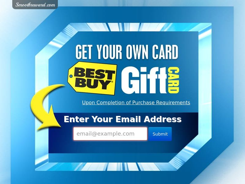 Best Buy $1000 GC Sweepstakes *Incent