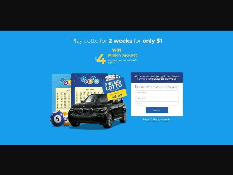 Lotto - Sweepstakes & Surveys - Trial - [NZ]