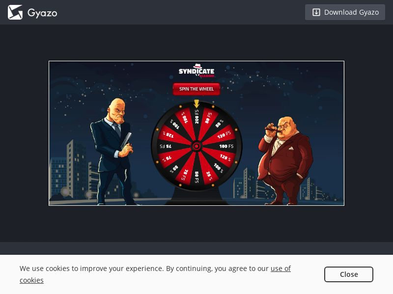 Syndicate Casino - INCENT - CA