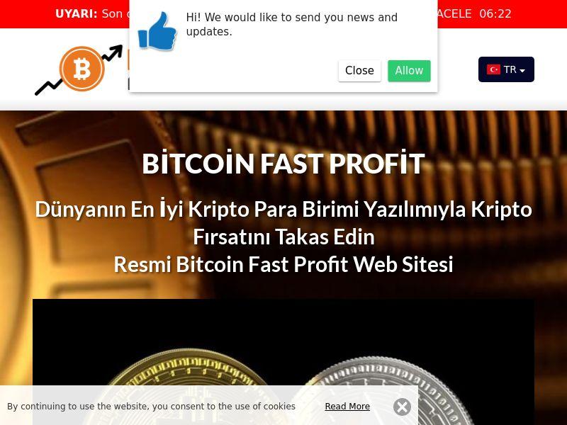 Bitcoin Fast Profits Turkish 3936
