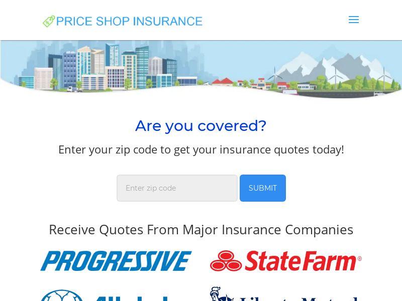 Price Shop Auto Insurance US (WEB) Non Incent