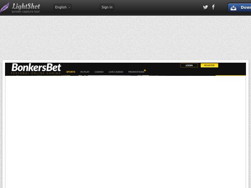 [WEB/MOB] Bonkers Bet - Sports and Casino CPA / DE AT DK FI CA NZ NO CH