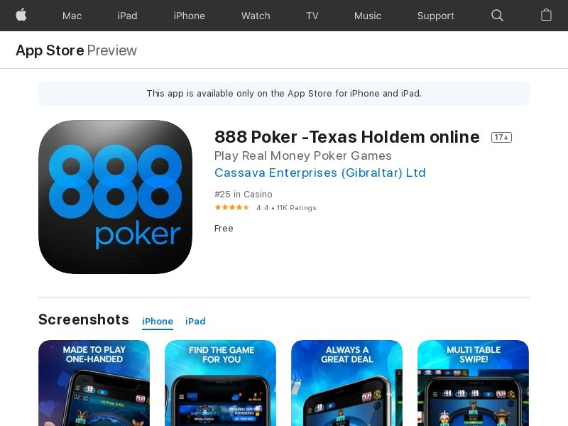 Poker IOS TH_Non - Incent_CPA