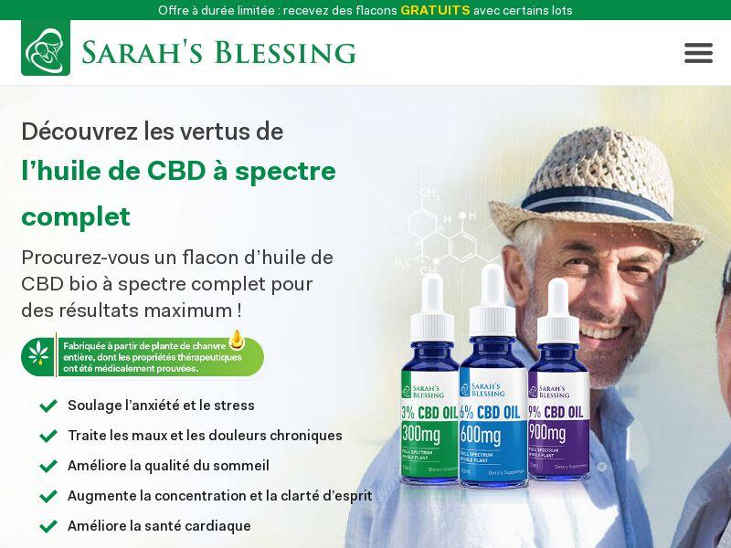 Sarah's Blessing CBD Oil SS - FR
