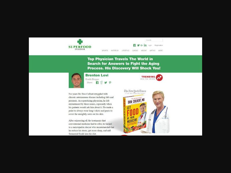 SuperfoodInsider.com - Energy Booster (US,CA,AU,MX,UK)
