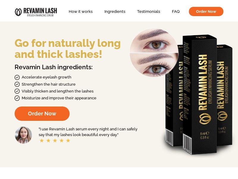 Revamin Lash - Eyelash Serum (PPS) - Health/Beauty - US
