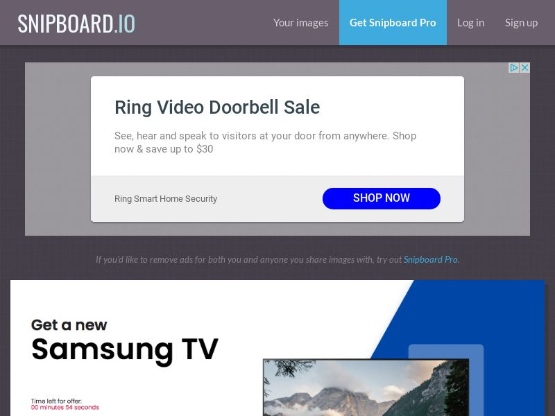 MagnificentPrize - Samsung QLED TV UK - CC Submit