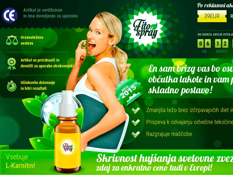 Fitospray SI - weight loss spray