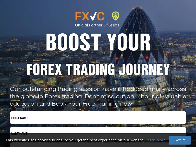 FXVC Boost Your Forex Trading (ZA) (CPS)