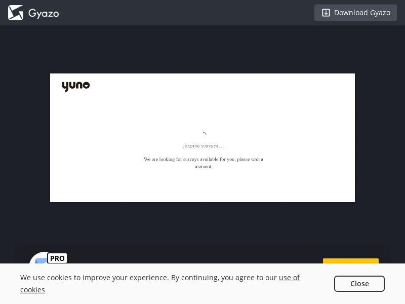 Yuno - Complete a Survey (IN) (CPL) (Desktop)