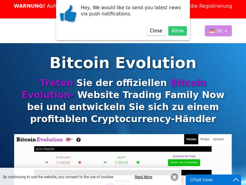 Bitcoin Evolution Pro - DE (DE), [CPA], Business, Investment platforms, Cryptocurrencies, Deposit Payment, bitcoin, cryptocurrency, finance, money