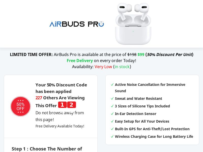 Airbuds Pro - Best Deal Today