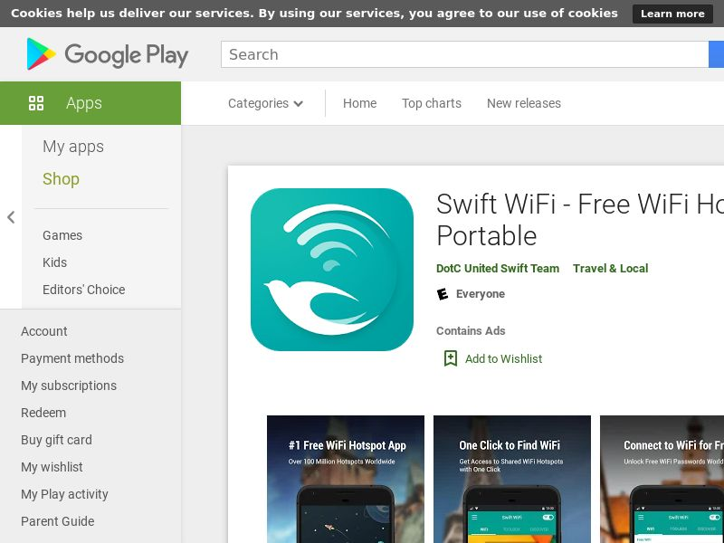 Swift Wifi Android Global