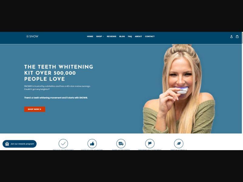 Snow - Teeth Whitening - SS - NO SEO - [All GEOs]