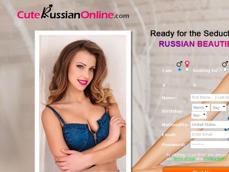 CuteRussianOnline CPL SOI 13 countries (e-mail, social, seo)