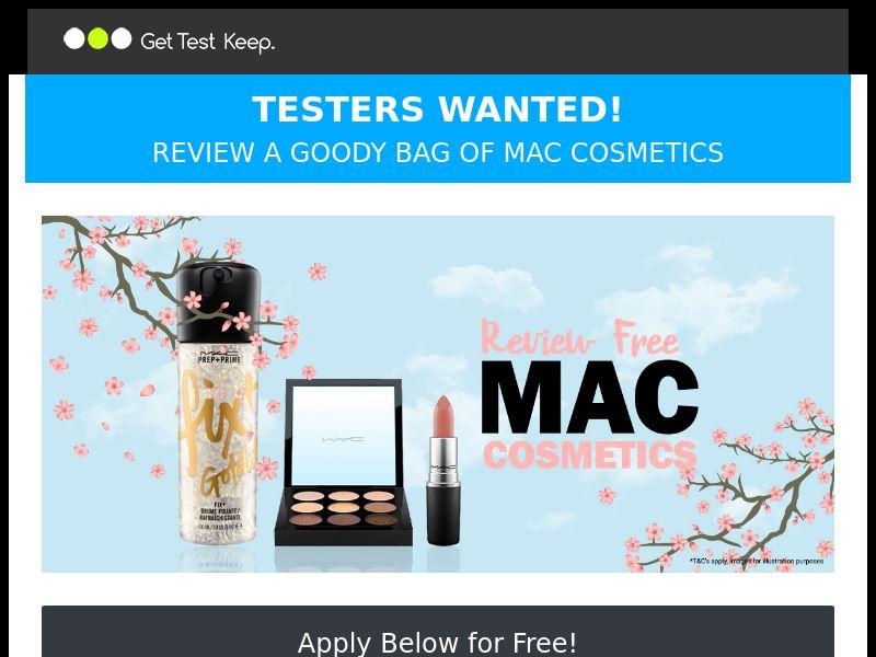 OfferX - Review & Keep Mac Cosmetics (Incent) [UK]