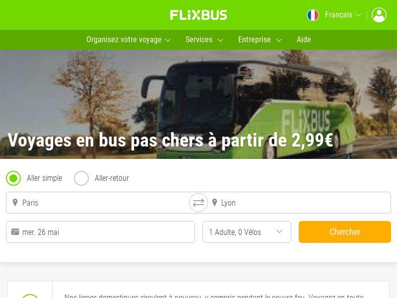 Flixbus - FR (FR), [CPL | CPS]