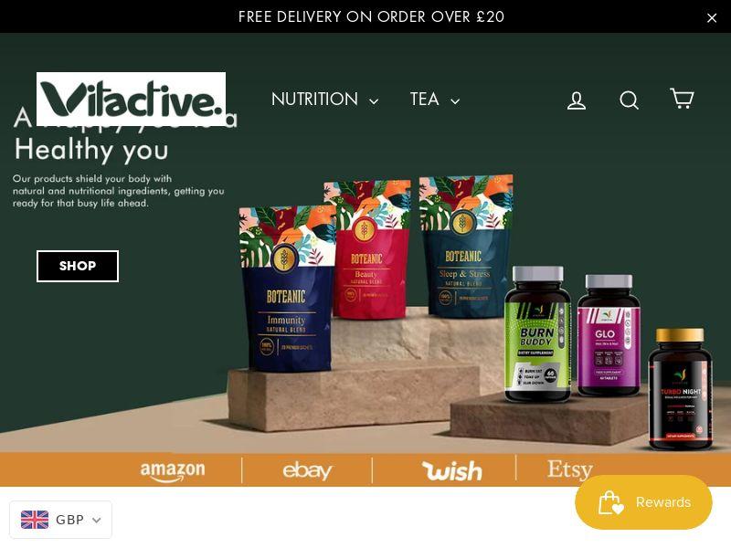 Vitactive - UK (GB), [CPS], Health and Beauty, Supplements, Food, Sell, coronavirus, corona, virus, keto, diet, weight, fitness, face mask