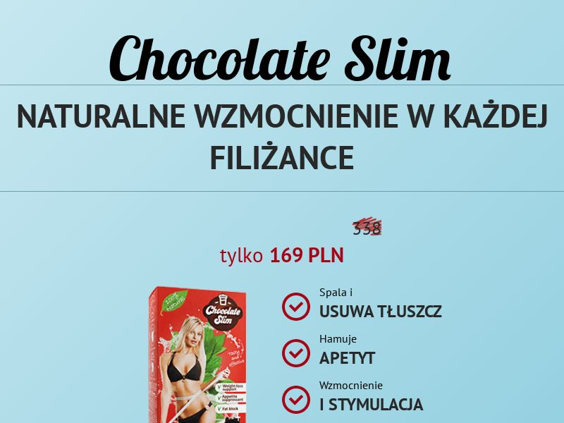 Chocolate Slim - PL