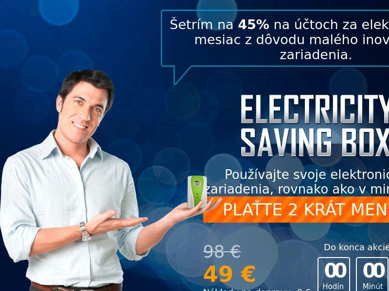 Electricity saving box - SK