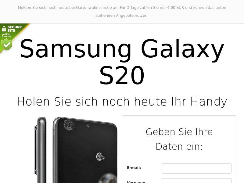 Samsung Galaxy S20 - DE