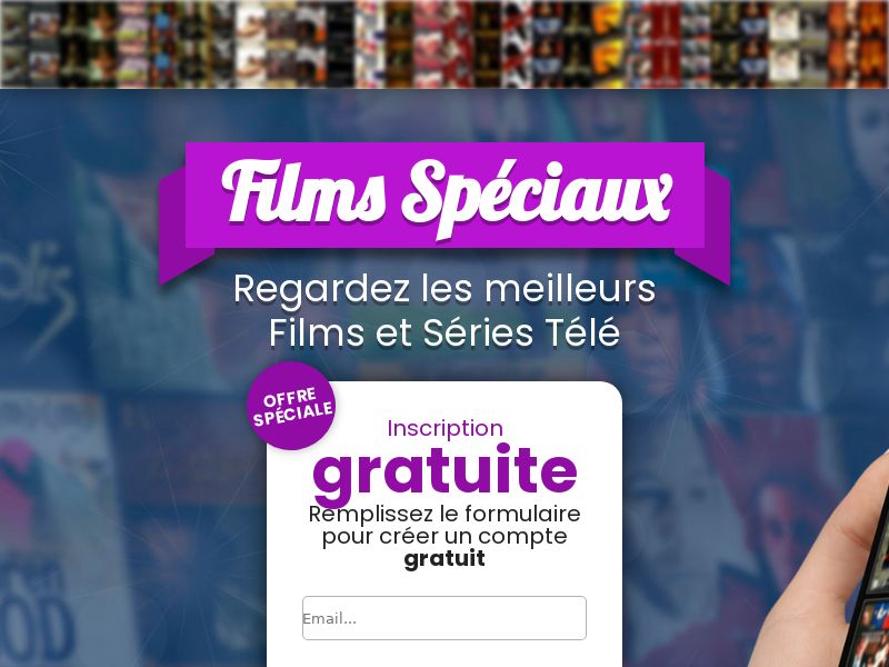 12123) [WEB+WAP] Movies Special - FR - CPA cc submit