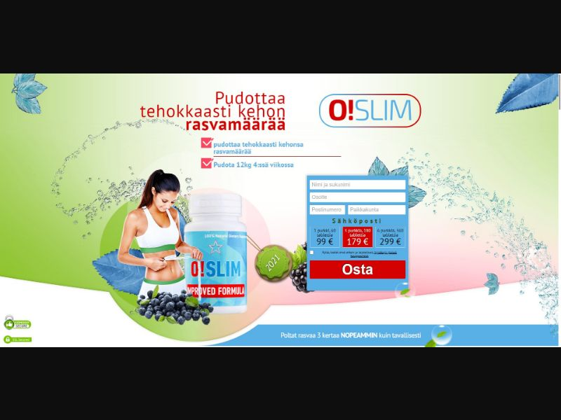 O!Slim - Diet & Weight Loss - SS - [FI]