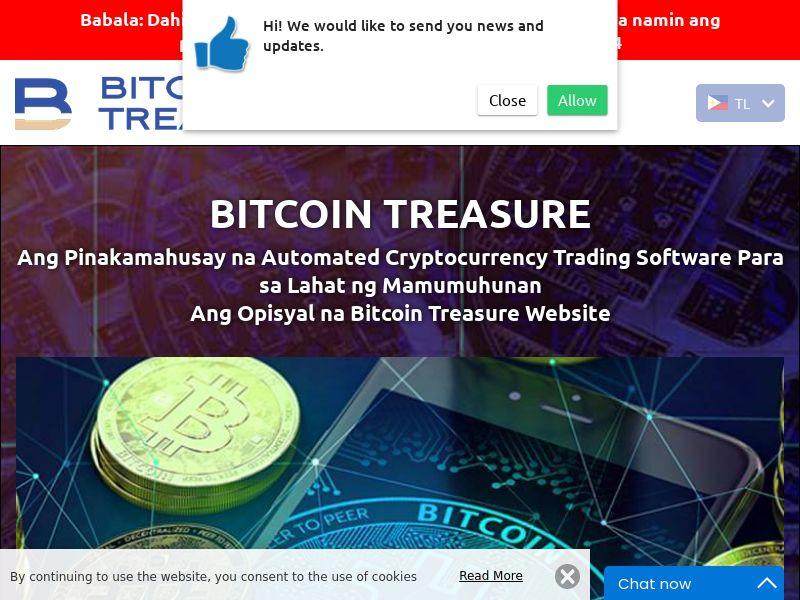 Bitcoin Treasure Filipino 2839
