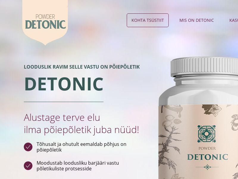 Detonic EE (cystitis)