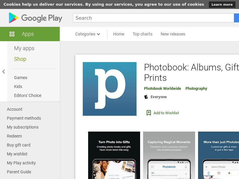 Photobook Android - MY SG TH PH CA US UK CPA