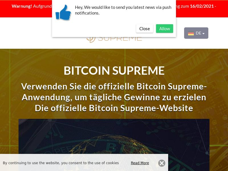 Bitcoin Supreme German 1907 4206