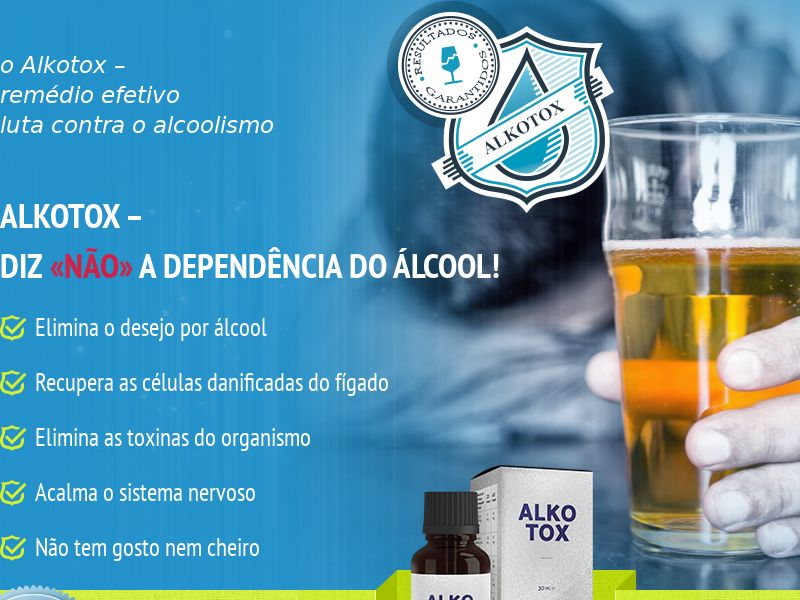 ALKOTOX PT - alcoholism treatment product