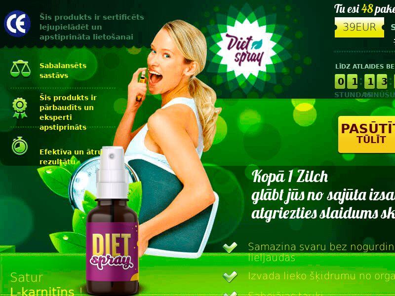 Diet Spray LV - weight loss treatment