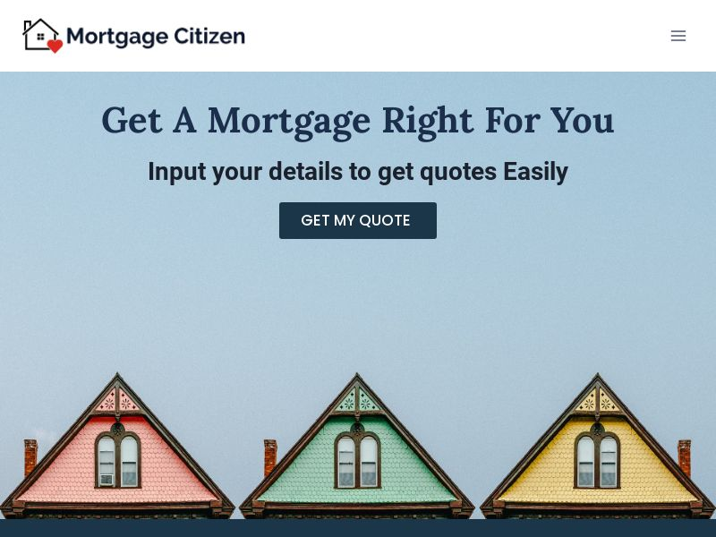 Mortgage Citizen (Refi or Purchase) - Zip Submit
