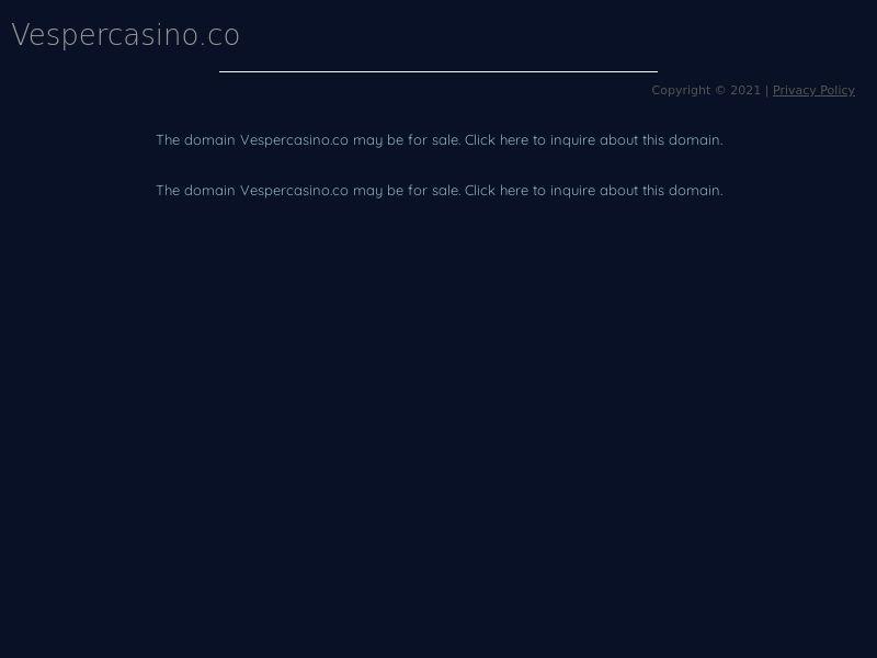 Vesper casino CPA 4 countries