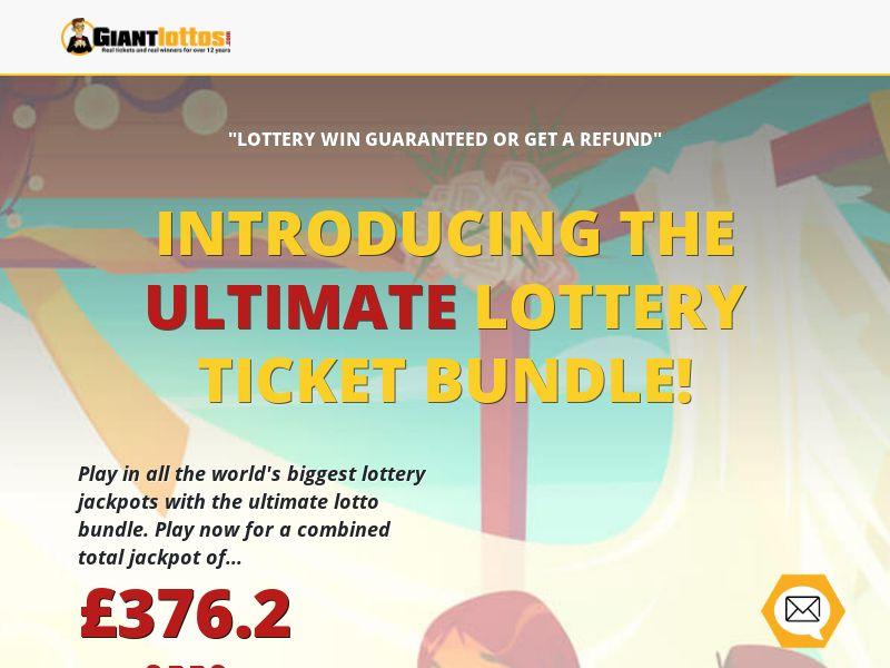 Giant Lottos - Ultimate Lottery Bundle - [UK, AU, CA, NO, SE]