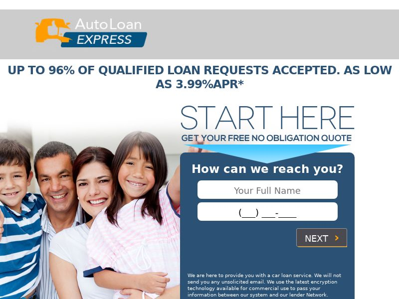 US - Auto Loan Express - CPL