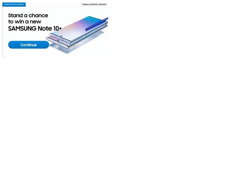 Samsung Note 10 Safaricom