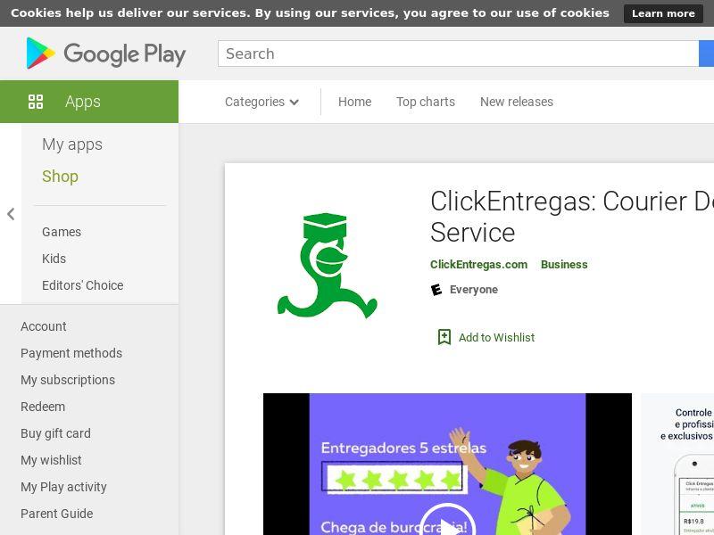 ClickEntregas: Courier Delivery Service