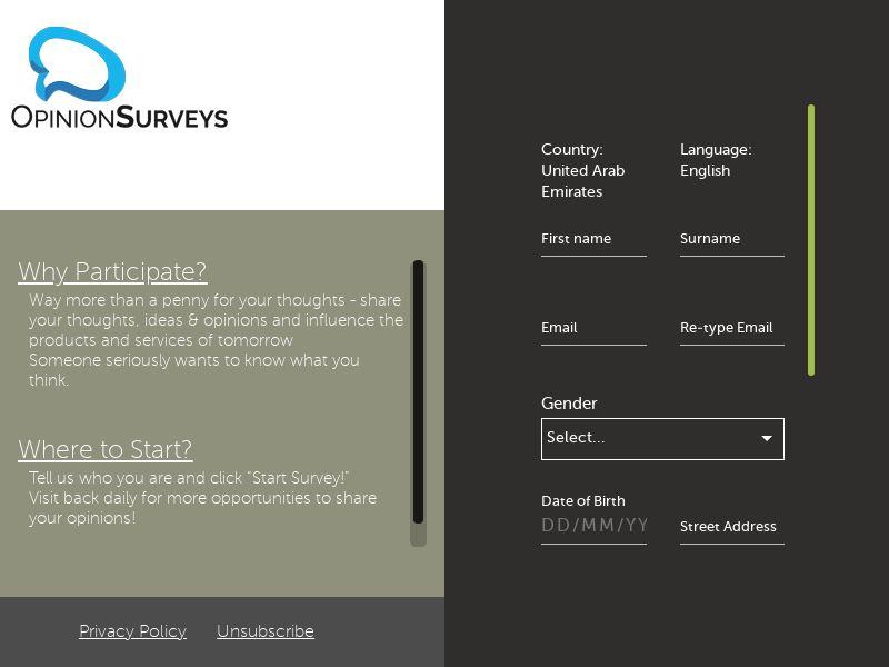 Opinion Surveys - IN