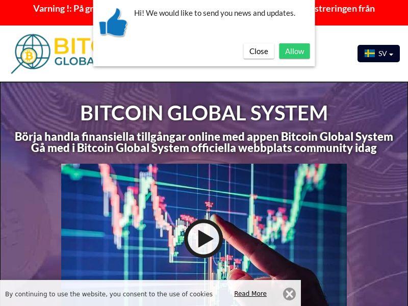The Bitcoin Global System Swedish 2700
