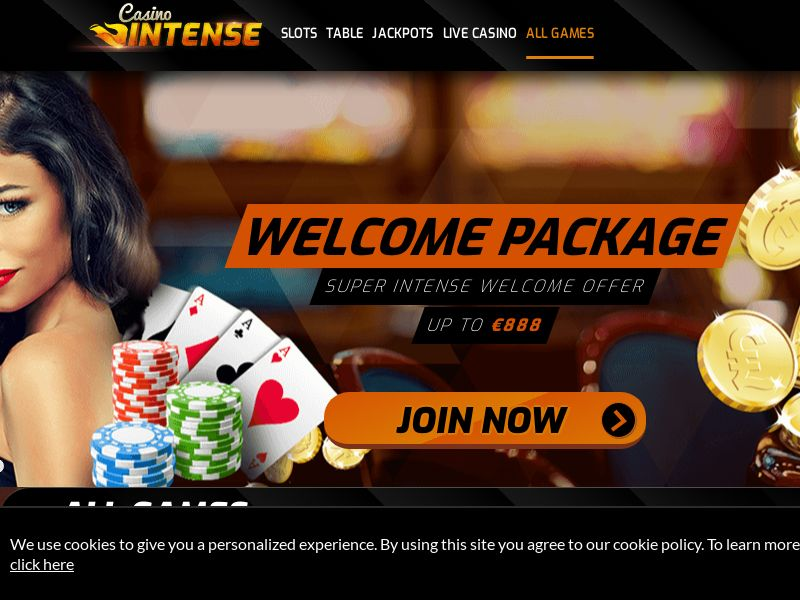 Casino Intense (CA) (CPS) (Incent) (Personal Approval)