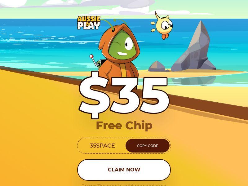 Aussie Play 35 Free Chip - AU