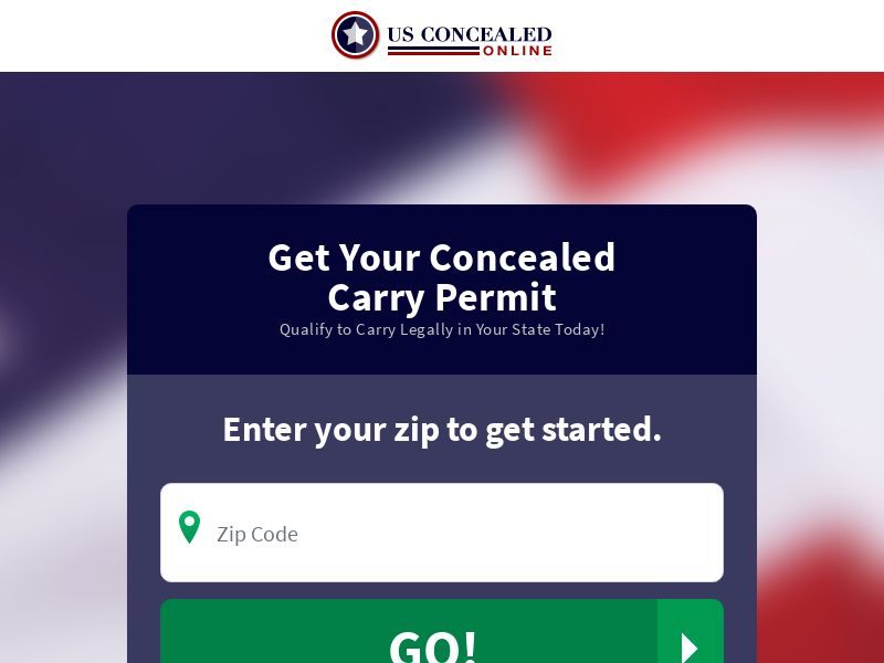 US Concealed Carry Online (US) (CPA) (SMS ALLOWED) (CREATIVE APPROVAL REQUIRED)