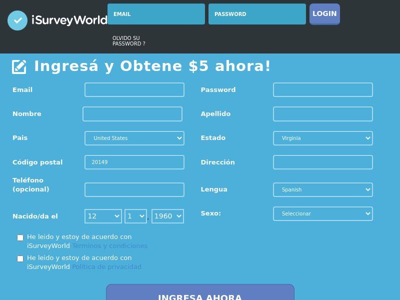 iSurveyWorld - Spanish Speaking