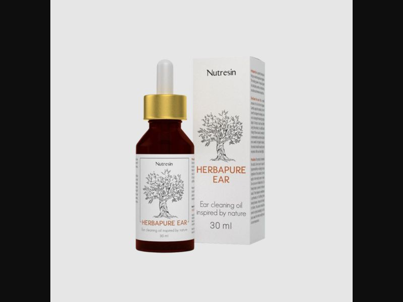NUTRESIN HERBAPURE EAR – HR – CPA – hearing loss – ear oil - COD / SS - new creative available