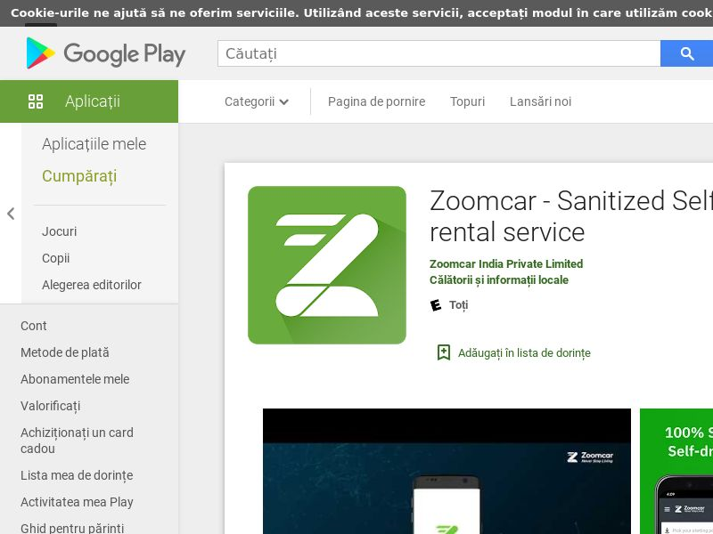 ZoomCar - Android - IN - CPA - Non Incent - Direct